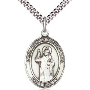 Sterling Silver St John of Capistrano Pendant